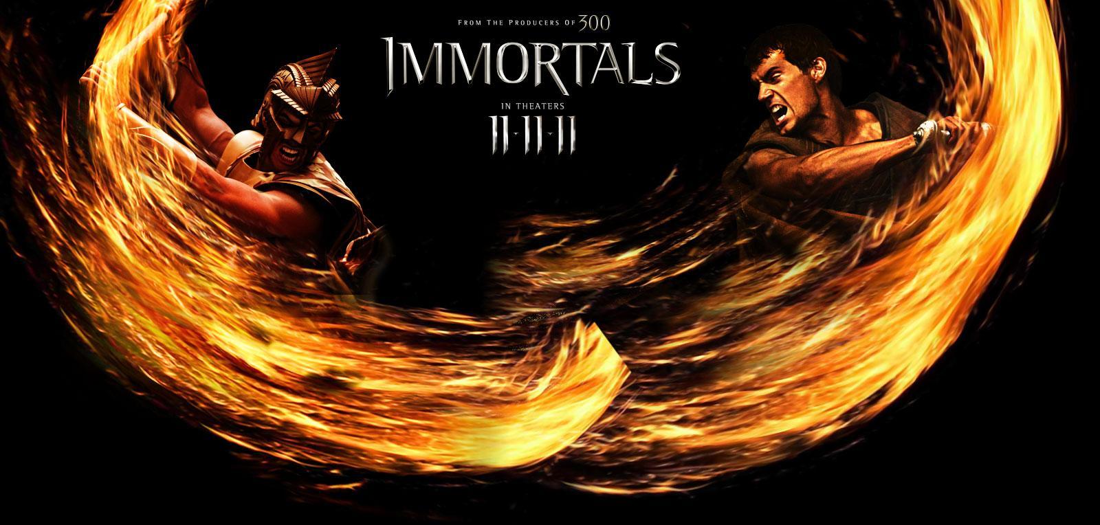 immortals film review 2011