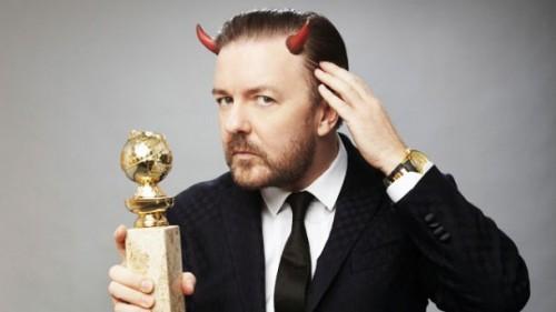 Ricky Gervais Golden Globes 2012 Host
