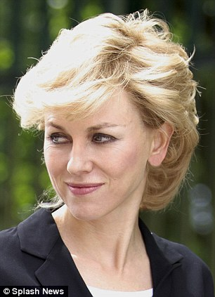 Naomi Watts as Diana, Princess of Wales, Entertainment News