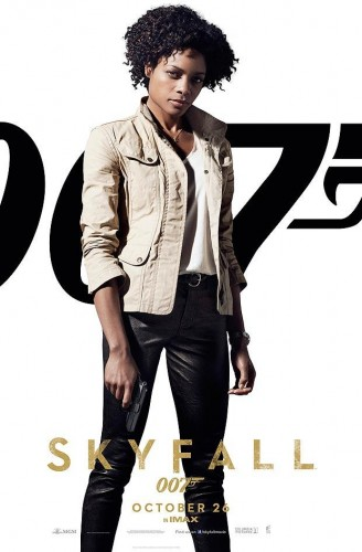 NAOMIE HARRIS as AGENT EVE in SKYFALL - The Latest Entertainment News Today