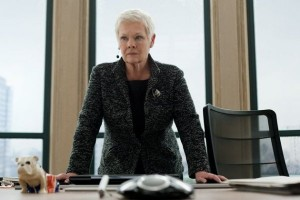 Dame Judi Dench as M in SKYFALL - Review - The Latest Entertainment News Today