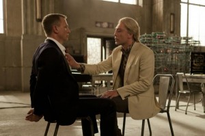 Daniel Craig as James Bond, Javier Bardem as Silva in SKYFALL - Review - The Latest Entertainment News Today