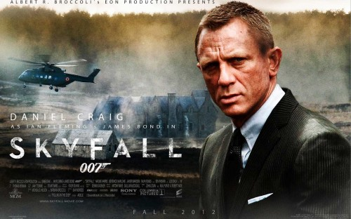 COMPETITION: Win a copy of SKYFALL on DVD / BLU-RAY on TOMORROW'S NEWS
