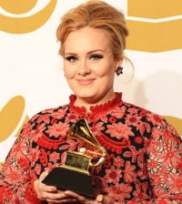 ADELE Wins At The GRAMMY AWARDS 2013 - TOMORROW'S NEWS - The Latest Entertainment News Today!