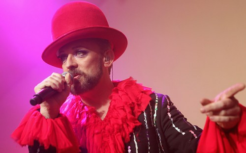BOY GEORGE 2013 UK Tour - TOMORROW'S NEWS - The Latest Entertainment News Today!