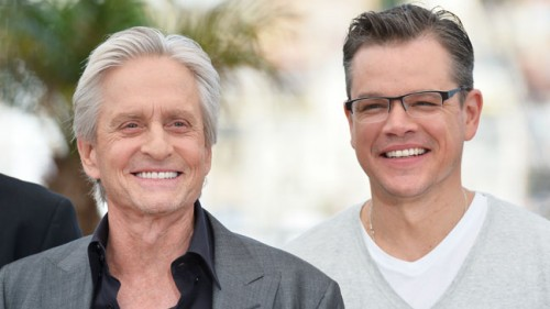 Matt Damon and Michael Douglas in BEHIND THE CANDELABRA - Film Review! - TOMORROW'S NEWS - The Latest Entertainment News Today!