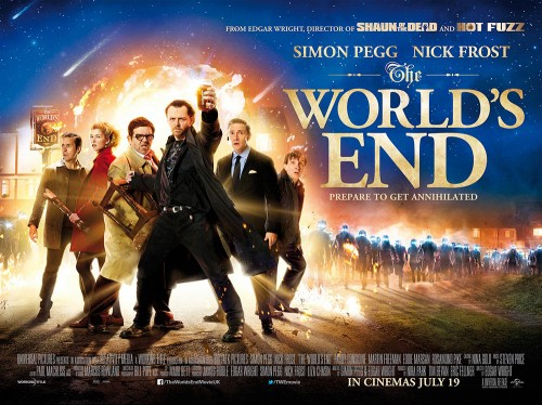 THE WORLD'S END - FILM Review! - TOMORROW'S NEWS - The Latest Entertainment News Today!