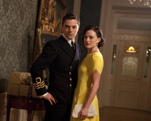Dominic Cooper and Lara Pulver in FLEMING! Watch The Teaser Trailer! - TOMORROW'S NEWS - The Latest Entertainment News Today!