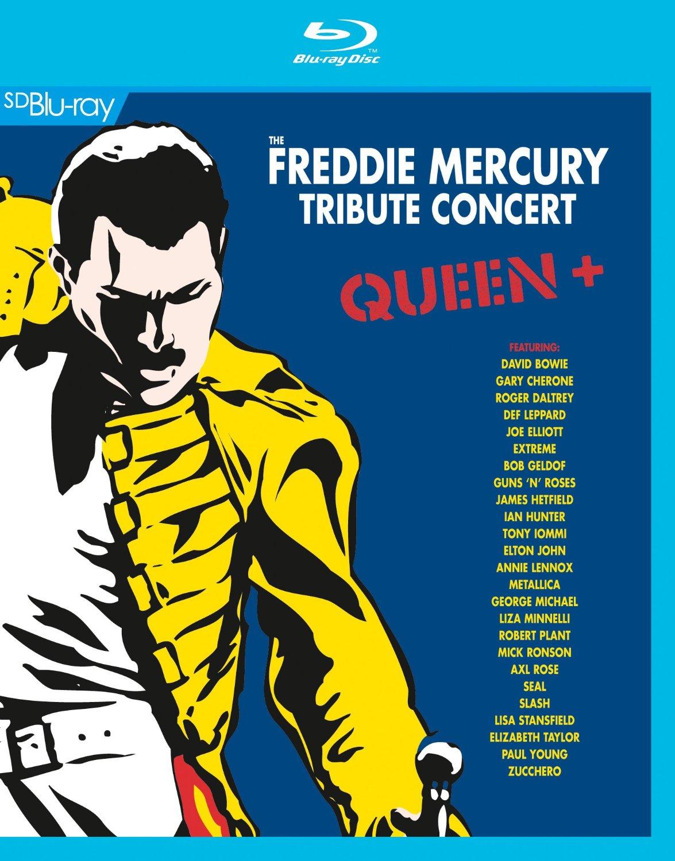 WIN FREDDIE MERCURY Tribute Concert Blu-ray