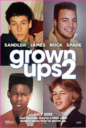 GROWN UPS 2 - Movie Review! - TOMORROW'S NEWS - The Latest Entertainment News Today!