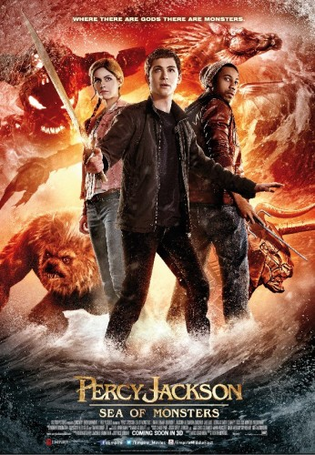 PERCY JACKSON SEA ON MONSTERS - Review! TOMORROW'S NEWS - The Latest Entertainment News Today!