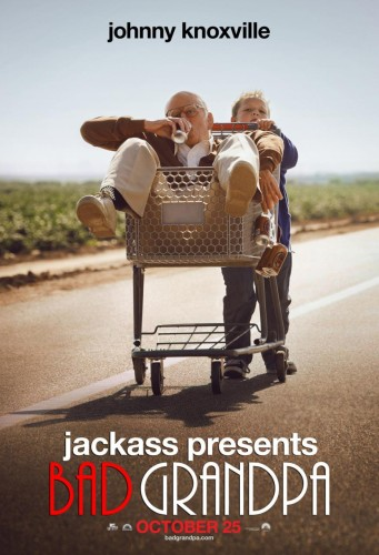 Read about the most embarrassing grandpa ever! JACKASS Presents BAD GRANDPA - Movie Review!