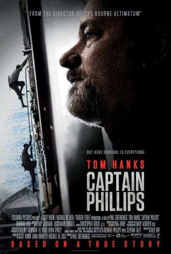 CAPTAIN PHILLIPS - Starring Tom Hanks. Read the Movie Review here on TOMORROW'S NEWS - The Latest Entertainment News Today!