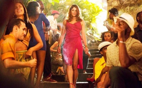 GEMMA ARTERTON In RUNNER RUNNER - FILM REVIEW! TOMORROWS NEWS - The Latest Entertainment News Today!