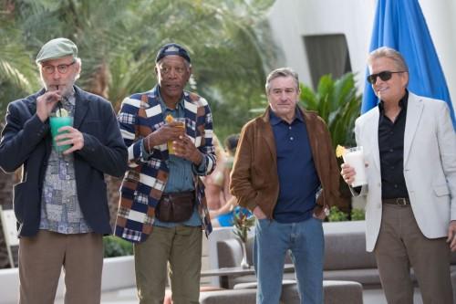 Michael Douglas, Morgan Freeman, Kevin Kline, Robert De Niro - Last Vegas - Film Review! TOMORROW'S NEWS - The Latest Entertainment News Today!