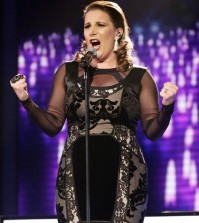 SAM BAILEY performing on Week 6 of X FACTOR Live Shows - Great British Songbook.