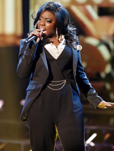 HANNAH BARRETT performing on X Factor Week 5 - Big Band.