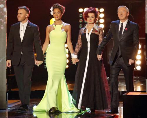 Judges on X Factor Week 5 - Big Band.