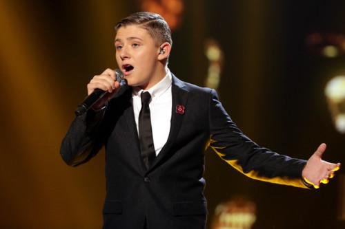 NICHOLAS MCDONALD performing on X Factor Week 5 - Big Band.