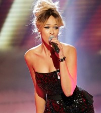 The X Factor Week 5 Live shows - Big Band - Tamera Foster