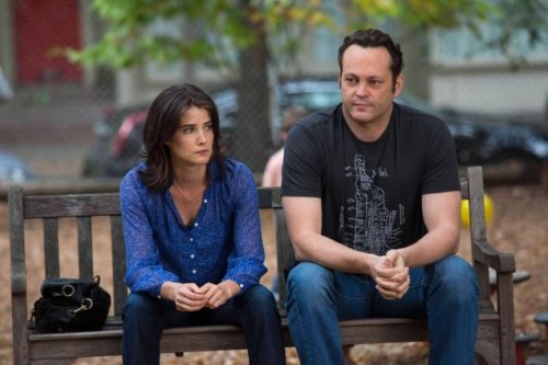 Cobie Smulders and Vince Vaughn in DELIVERY MAN (2013) - Film Review! TOMORROW'S NEWS - The Latest Entertainment News Today!