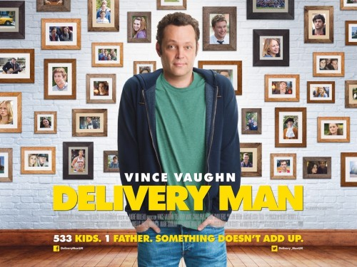 DELIVERY MAN (2013) -Starring VINCE VAUGHN - Film Review! TOMORROW'S NEWS - The Latest Entertainment News Today!