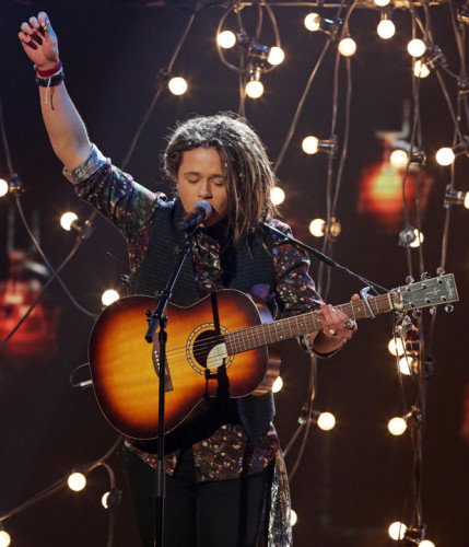 Luke Friend on Week 8 of the Live X Factor Finals - TOMORROW'S NEWS - The Latest Entertainment News Today!