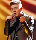 Nicholas McDonald performing on Week 8 of the Live Show X Factor Finals - TOMORROW'S NEWS - The Latest Entertainment News Today!
