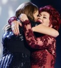 SAM BAILEY with Sharon Osbourne - winning the X-Factor 2013 competition! TOMORROW'S NEWS - The Latest Entertainment News Today!