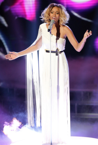 Tamera Foster on Week 8 of the Live X Factor Finals - TOMORROW'S NEWS - The Latest Entertainment News Today!