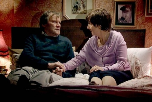 Roy and Hayley Cropper - Last Scene, Coronation Street - TV Review