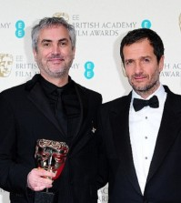 AWARDS NEWS: Alfonso Cuaron and David Heyman Win Award For GRAVITY - BAFTA Film Awards 2014
