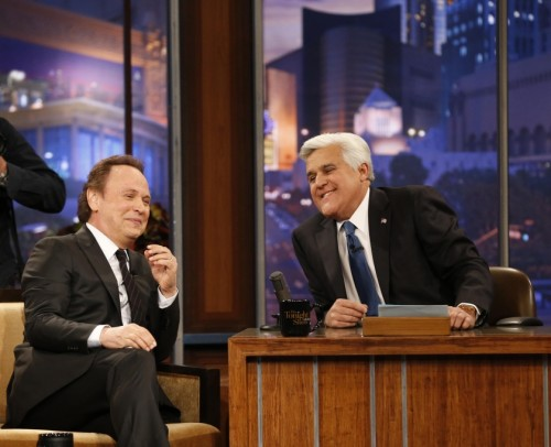 TV NEWS: Billy Crystal on Jay Leno's Final TONIGHT SHOW - 2014