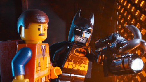 Emmet and BATMAN in THE LEGO MOVIE - FILM REVIEW.