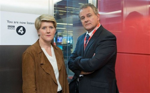 TV REVIEWS: W1A - Episode 2 - Hugh Bonneville - Clare Balding