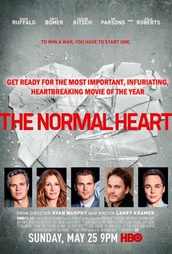 TV REVIEW: HBO The Normal Heart - Mark Ruffalo, Matt Bomer, Jim Parsons, Julia Roberts