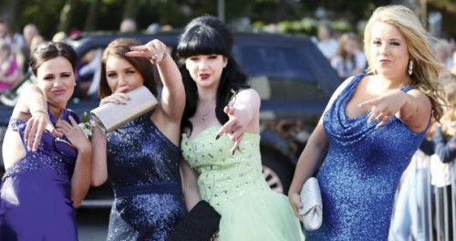 TV REVIEW: PROM CRAZY - FROCKS AND FERRARIS