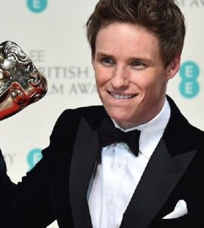 Eddie Redmayne Wins Best Actor BAFTA for The Theory of Everything