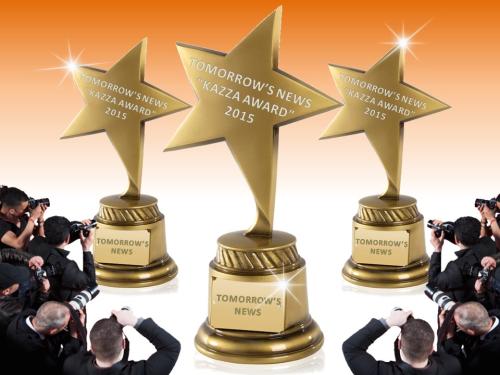 AWARDS: TOMORROW'S NEWS - KAZZA TV Awards 2015