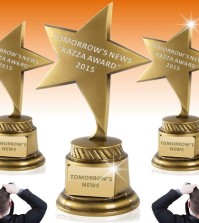 AWARDS: TOMORROW'S NEWS - KAZZA TV Awards 2015 - See Who Won