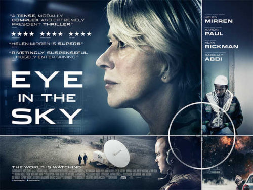 The Latest Film Reviews 2016 - EYE IN THE SKY