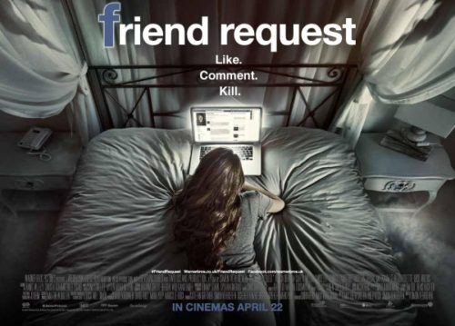 Only the Latest Film Reviews 2016 - FRIEND REQUEST Movie Poster