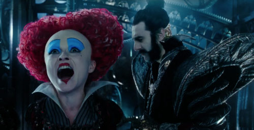 Find the Latest Film Reviews 2016 - ALICE THROUGH THE LOOKING GLASS - BARON COHEN and BONHAM-CARTER