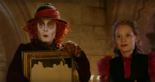Always the Latest Film Reviews 2016 - ALICE THROUGH THE LOOKING GLASS - Mad Hatter and Alice