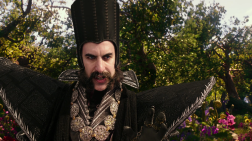 The place for the Latest Film Reviews 2016 - ALICE THROUGH THE LOOKING GLASS - SACHA BARON COHEN