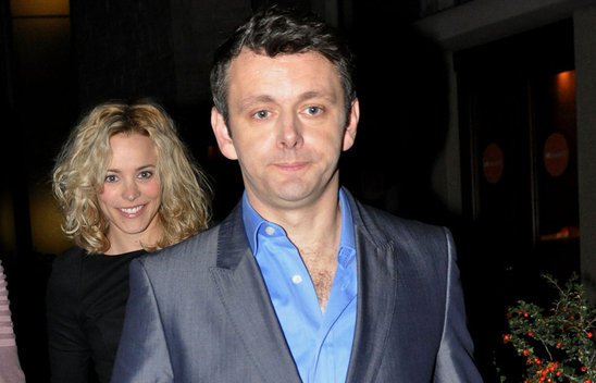 Michael Sheen with Rachel McAdams