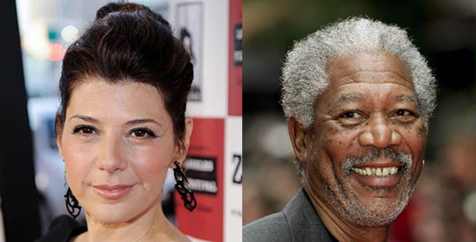 Marisa Tomei - Morgan Freeman
