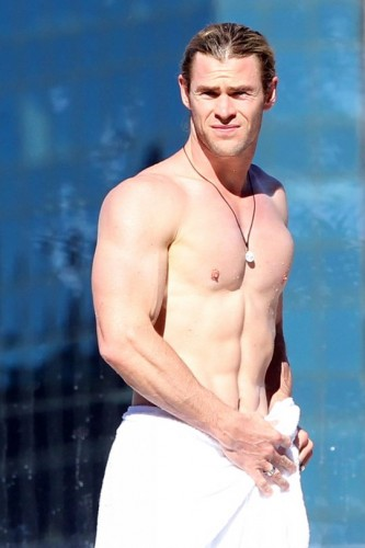 Chris Hemsworth - There's more to him than just his buff body