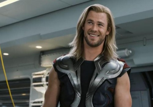 Chris Hemsworth in THE AVENGERS Assemble, Chris Hemsworth Buff Body, Celebrity News