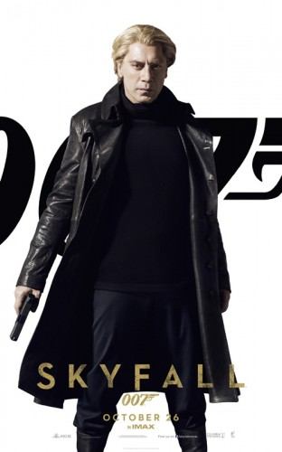 Javier Bardem as SILVA in SKYFALL - The Latest Entertainment News Today